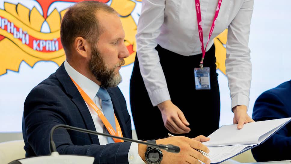 Генеральный директор особой экономической зоны «Титановая долина» Артемий Кызласов