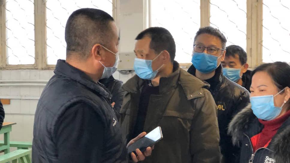 Зона обсервации для граждан Китая в Богдановиче (Свердловская область)