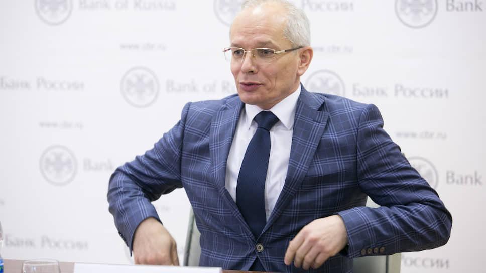 Начальник Уральского главного управления Банка России Рустэм Марданов