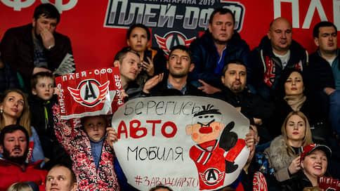 «Автомобилист» начинает борьбу за Кубок Гагарина  / Уральский клуб завершил регулярный чемпионат на 4 месте