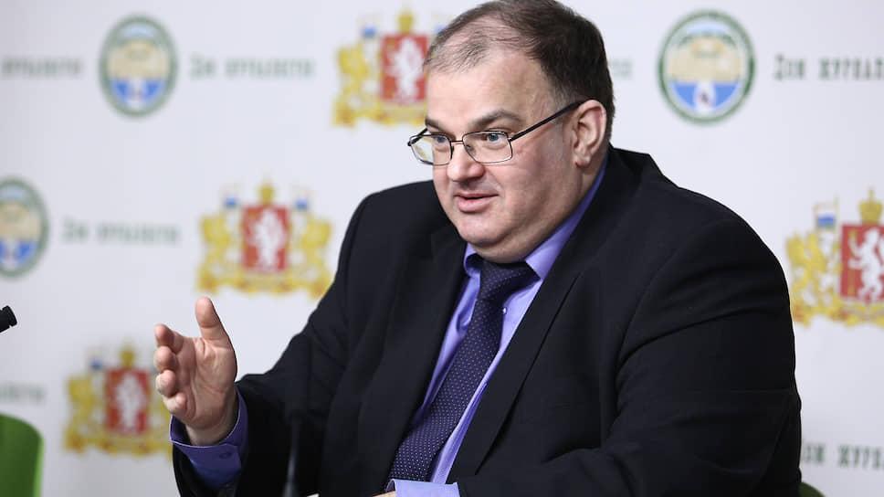 Министр здравоохранения Свердловской области Андрей Цветков