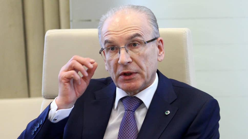 Председатель Уральского банка Сбербанка России Владимир Черкашин