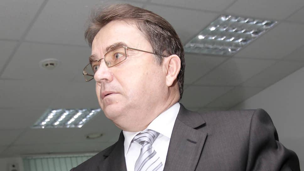 Бывший председатель избирательной комиссии Свердловской области Владимир Мостовщиков
