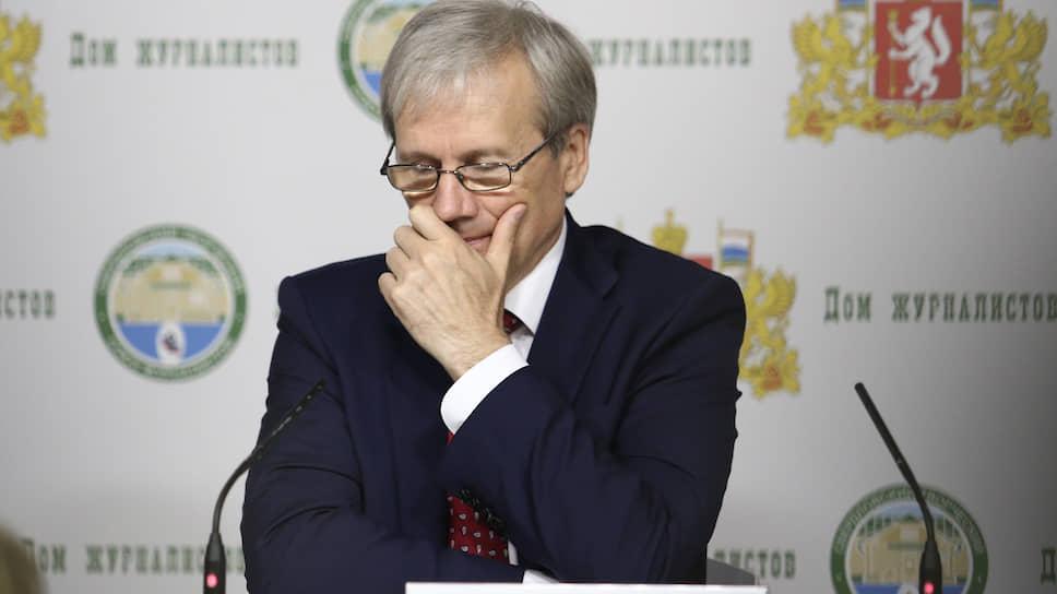 Прокурор Свердловской области Сергей Охлопков.