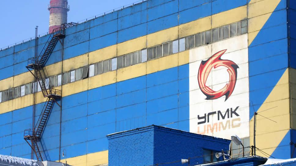 Территория Среднеуральского медеплавильного завода (СУМЗ, входит в металлургический комплекс УГМК).