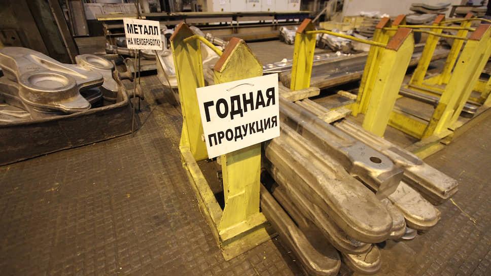 Производство алюминиевых и титановых деталей на заводе корпорации ВСМПО-Ависма.