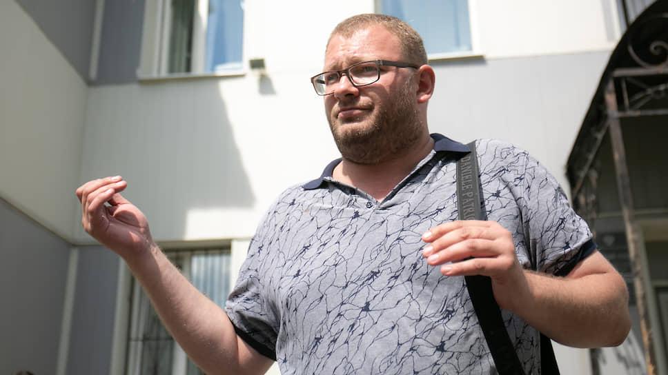 Активист Ярослав Ширшиков