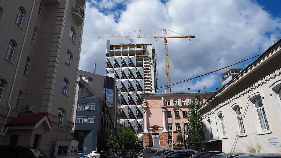 Строительство штаб-квартиры РМК