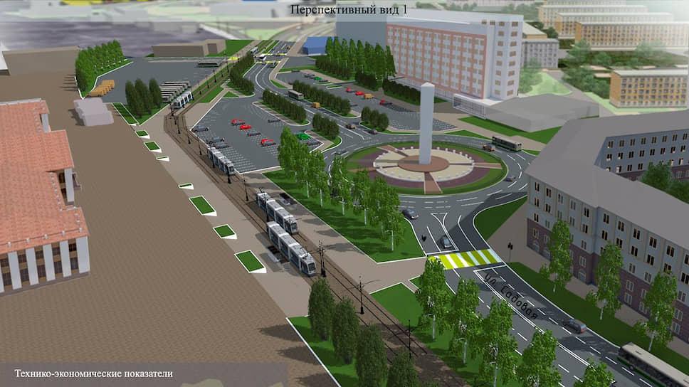 Проект стелы «Город трудовой доблести» на Привокзальной площади в Нижнем Тагиле