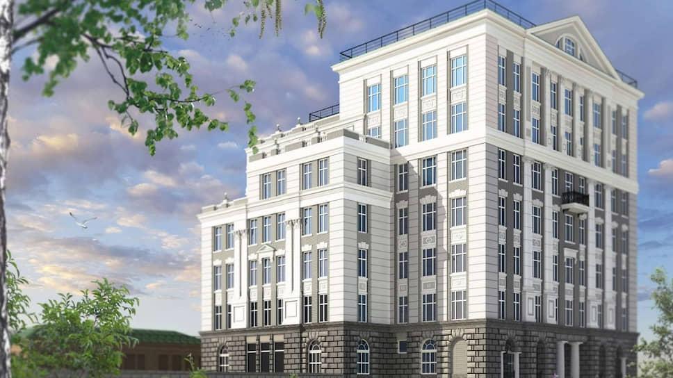 На Вознесенской горке хотят построить элитный семиэтажный дом на 106 человек