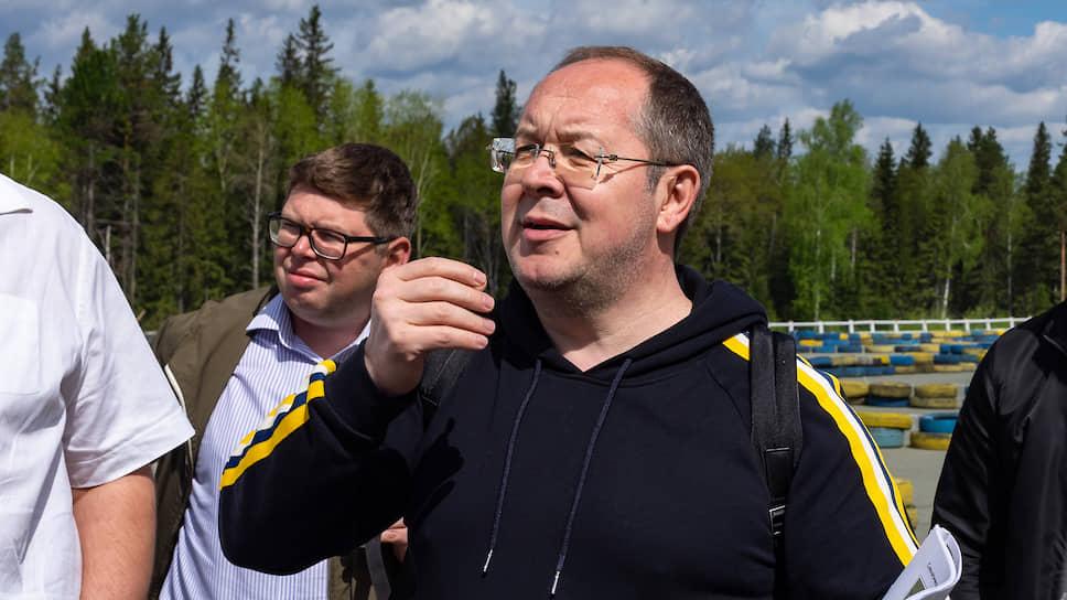 Директор управляющей компании туристического кластера «Гора Белая» Леонид Гункевич