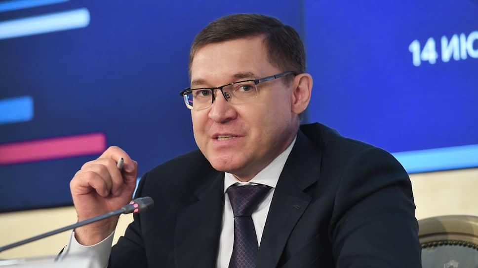 Министр строительства и жилищно-коммунального хозяйства России Владимир Якушев