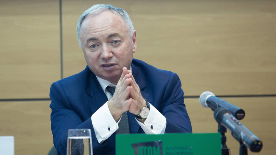 Генеральный директор НП «УС «Атомстройкомплекс» Валерий Ананьев