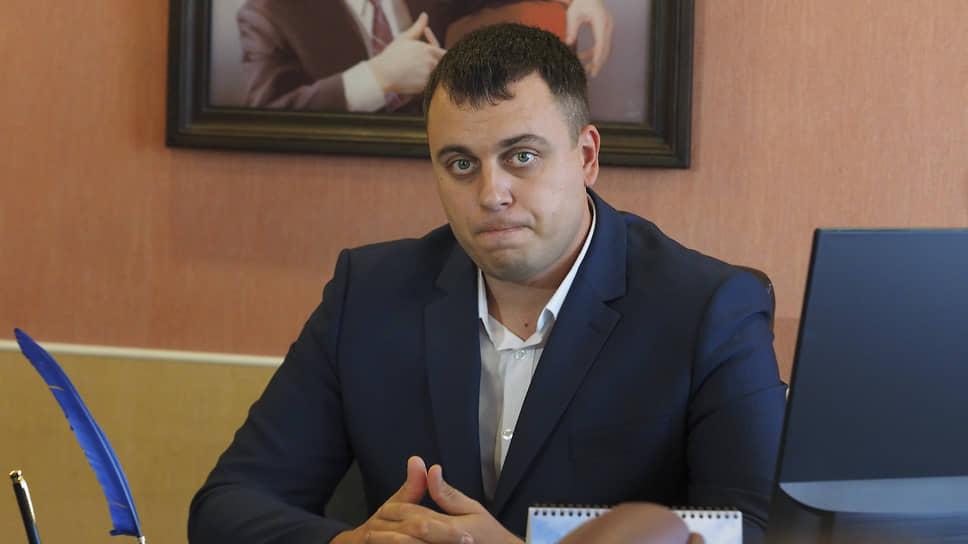 Глава Нижней Туры Алексей Стасенок