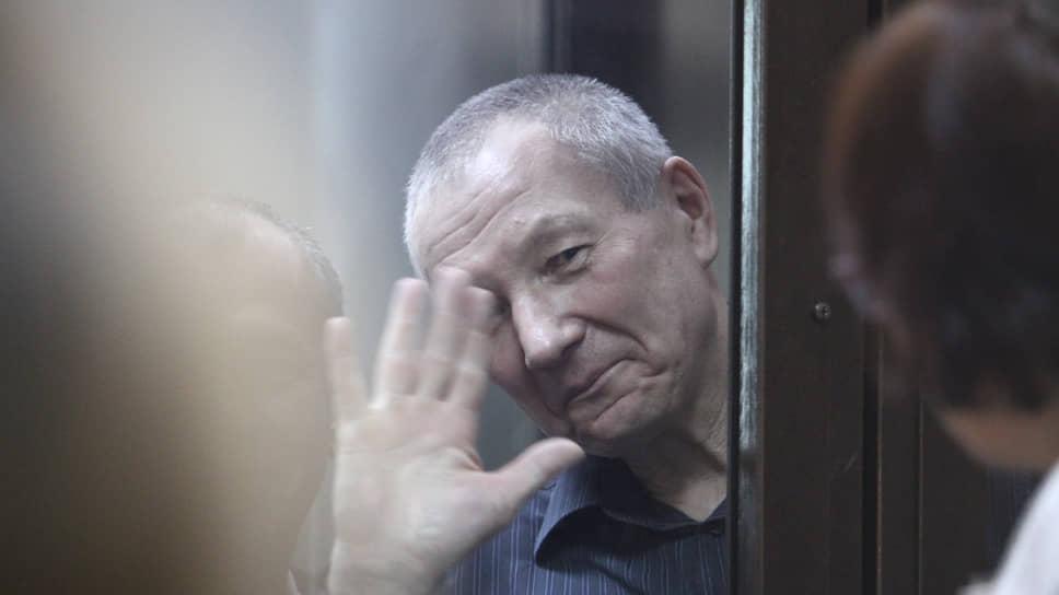 Виктор Контеев во время судебного заседания в Курганском облсуде
