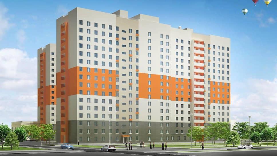 Проект общежития УрФУ