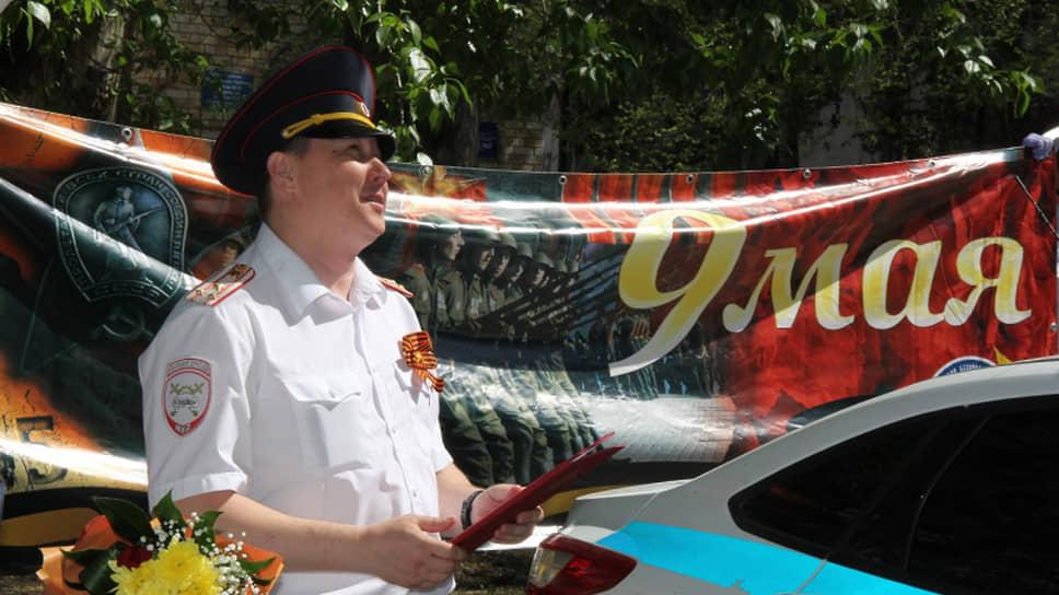 Начальник Управления ГИБДД УМВД России по Тюменской области Александр Селюнин