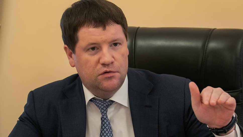 Вице-губернатор Свердловской области Сергей Бидонько