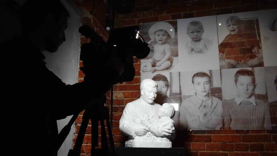 Экспозиция в Музее истории ГУЛАГа