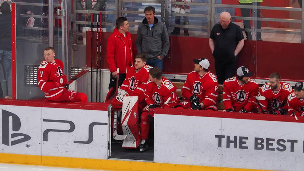 Игроки хоккейного клуба «Автомобилист»