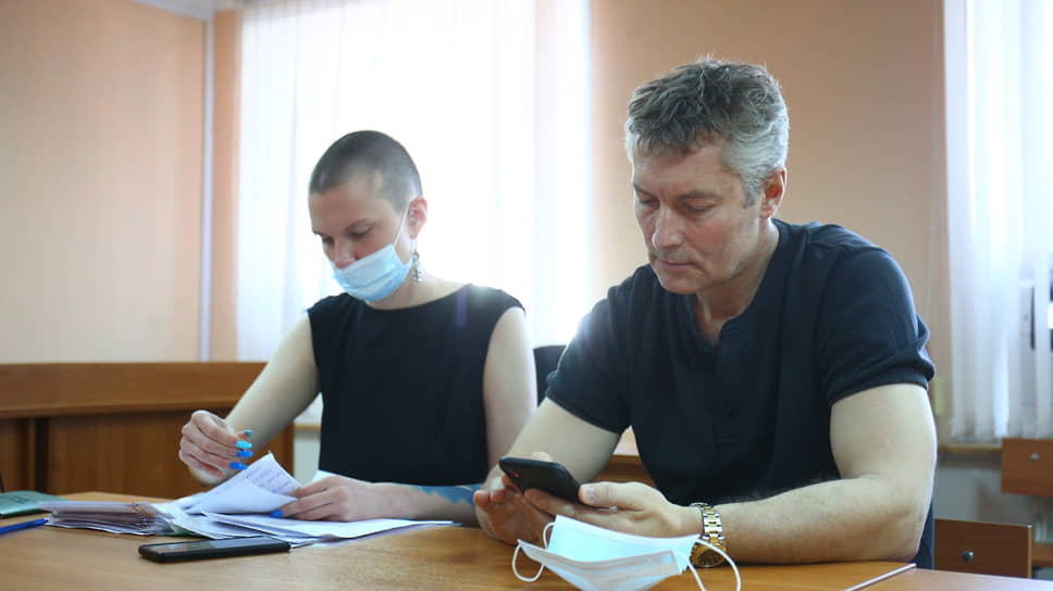 Бывший мэр Екатеринбурга Евгений Ройзман в суде