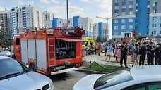 Жителей многоэтажки в Академическом районе Екатеринбурга эвакуировали из-за пожара