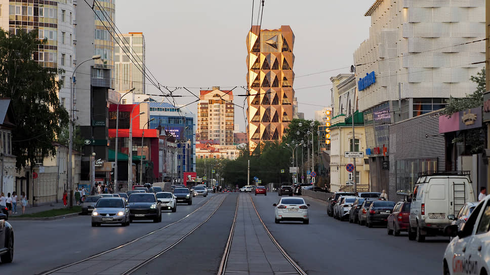 Виды Екатеринбурга. Улица Радищева