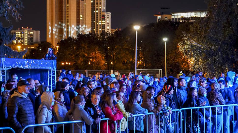 """Фестиваль Ural Music Night (""""Уральская ночь музыки"""") в Екатеринбурге в 2020 году"""