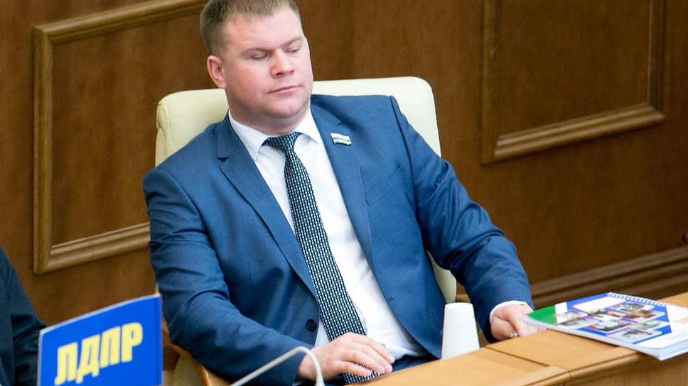 Депутат Законодательного собрания Свердловской области Александр Коркин