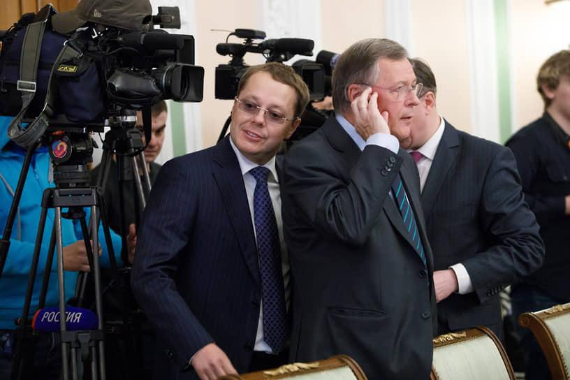 Слева депутат Госдумы Лев Ковпак