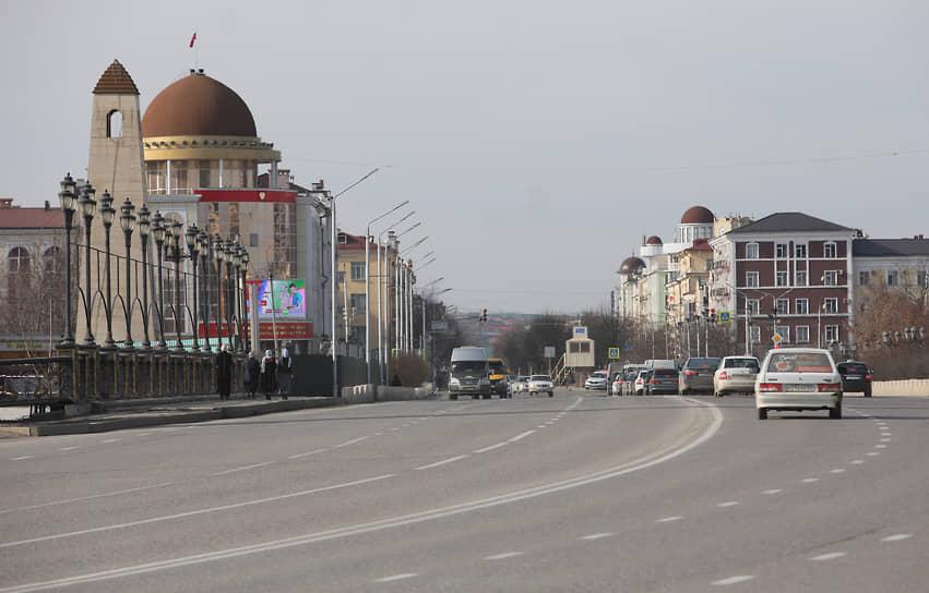 Виды Грозного