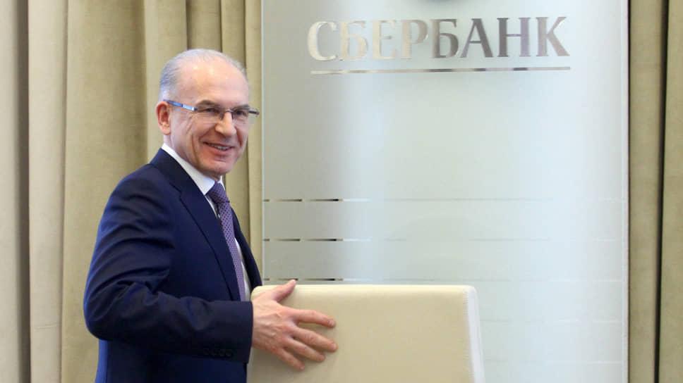 Советник президента Сбербанка Владимир Черкашин