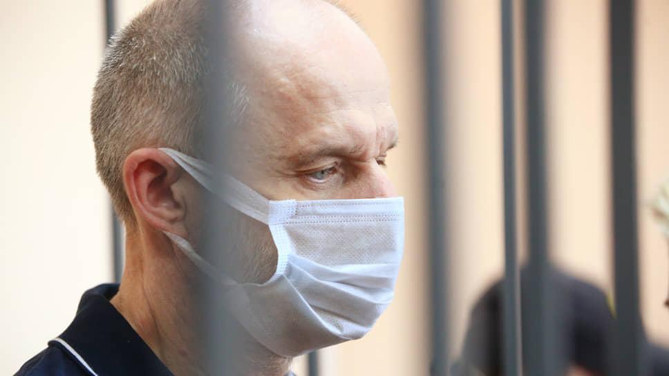 Бывший заместитель министра по экономике Свердловской области Михаил Шилиманов во время заседания суда