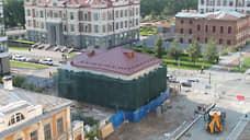 Бизнесмен Валерий Малышев через неделю завершит реконструкцию старинного дома на набережной Исети