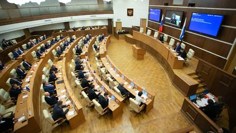 Избирком озвучил окончательный список депутатов свердловского заксобрания