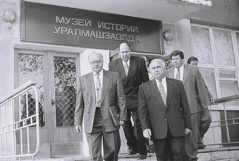 Музей истории Уралмашзавода неоднакратно принимал высокопоставленных гостей. На фото: председатель правительства России Виктор Черномырдин