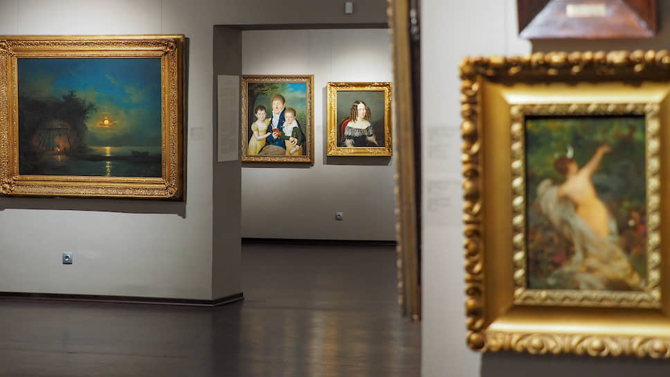 Открытие обновленной постоянной экспозиции «Русское искусство XVIII - начала ХХ века» в Екатеринбургском музее изобразительных искусств