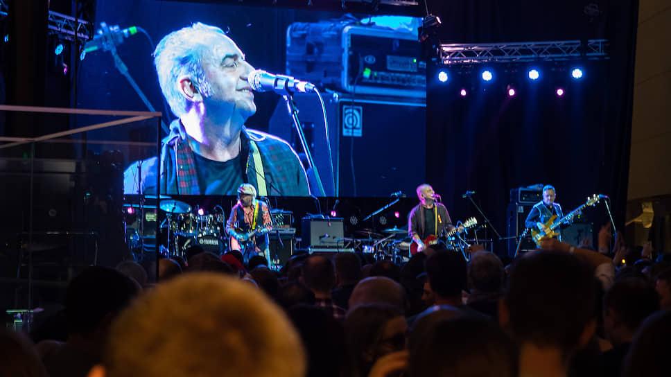 Фестиваль «Старый новый рок-2020». Группа «Чайф» на фестивале выступила впервые, хотя Владимир Шахрин и Владимир Бегунов все равно выходили на сцену, но в качестве ведущих