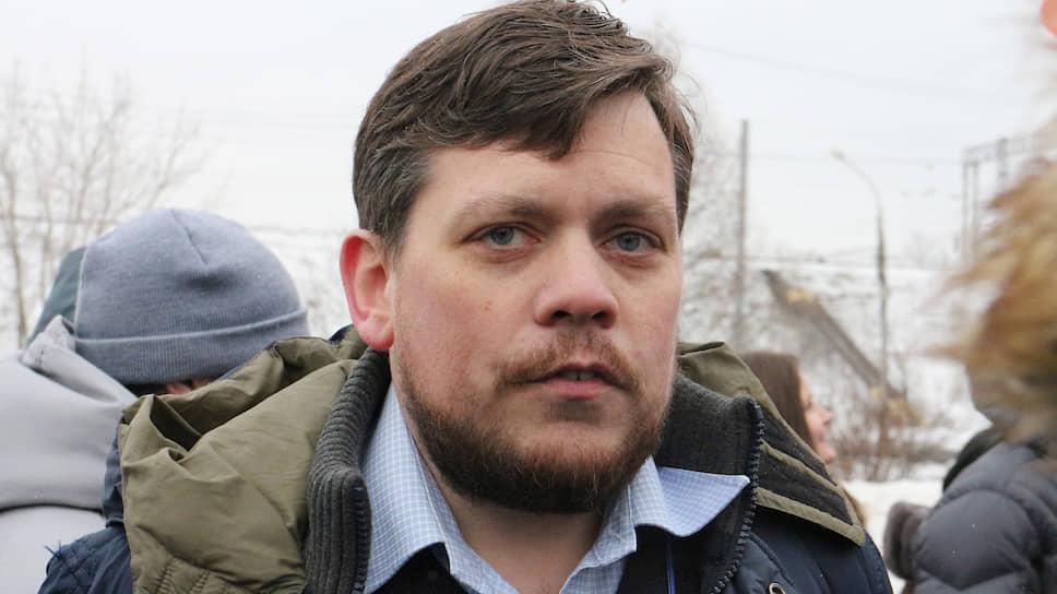 """Руководитель компании """"Новоскор"""" Евгений Фридман."""