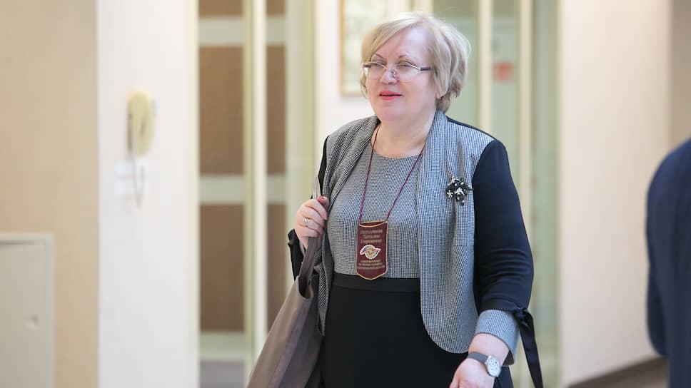 Уполномоченый по правам человека в Свердловской области Татьяна Мерзлякова
