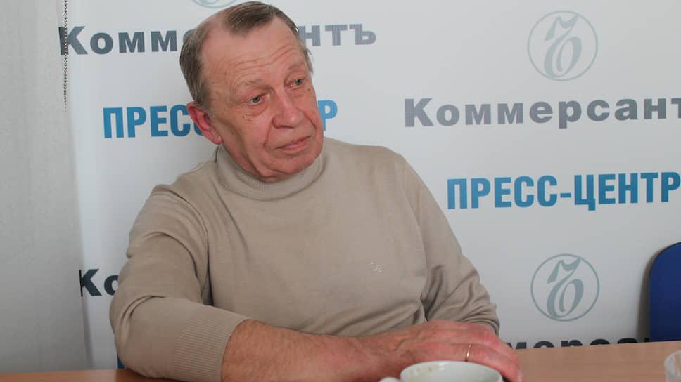Бывший начальник отдела по раскрытию убийств УВД Свердловской области Владимир Козлов