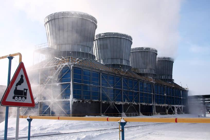 Территория Среднеуральского медеплавильного завода (СУМЗ, входит в УГМК)