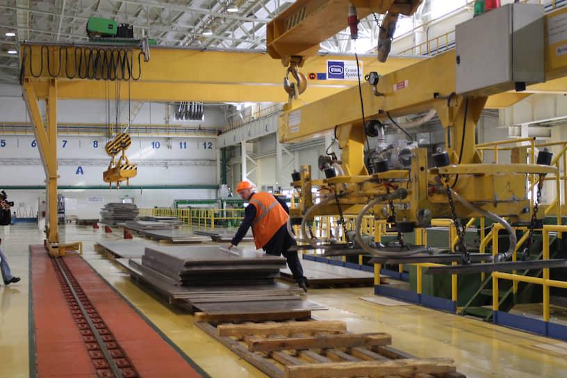 Производство алюминиевых листов на ОАО «Каменск-Уральский металлургический завод» (КУМЗ)