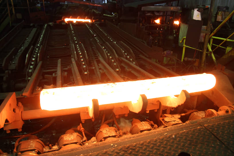Производство проката в цехе ОАО «Синарский трубный завод» (ТМК)