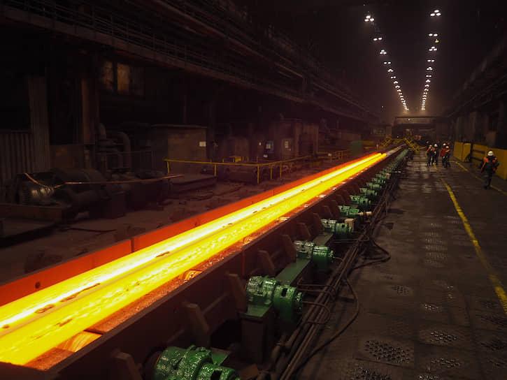 Нижнетагильский металлургический комбинат (ЕВРАЗ НТМК). Производство железнодорожных рельсов