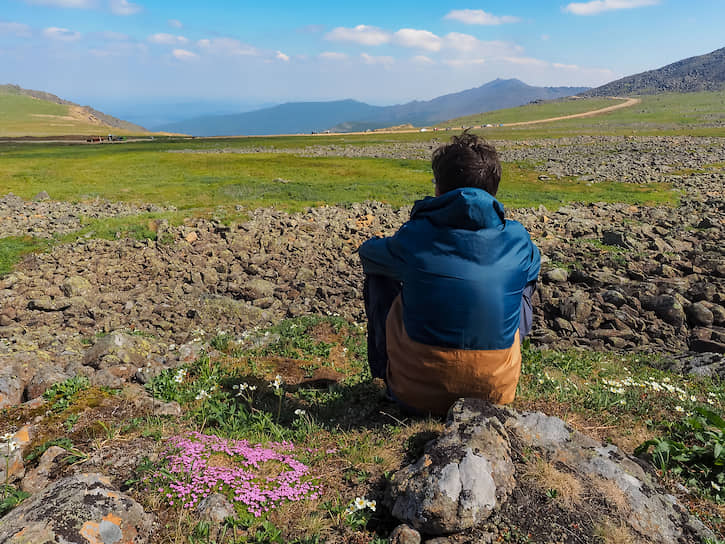 Горы Северного Урала своей красотой привлекают художников