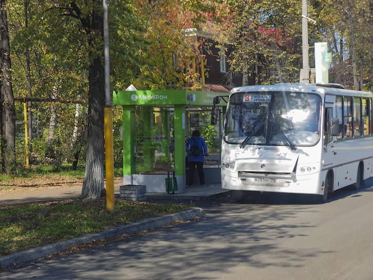 """В Нижней Туре практически один автобусный маршрут. Всего установлено 16 """"умных"""" остановок"""