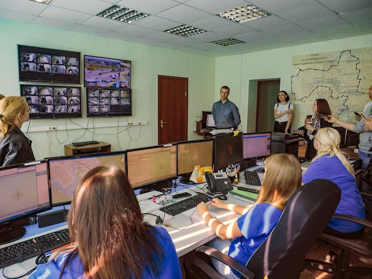 Информация с видеокамер доступна Единой дежурно-диспетчерской службе, мэрии и полиции