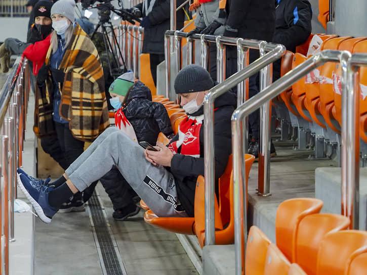 Футбольный матч 14 тура РПЛ «Урал» — «Спартак»