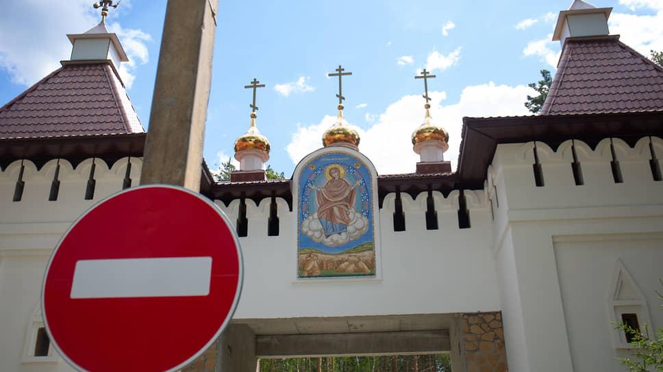 """Среднеуральский женский монастырь """"Спорительница хлебов""""."""